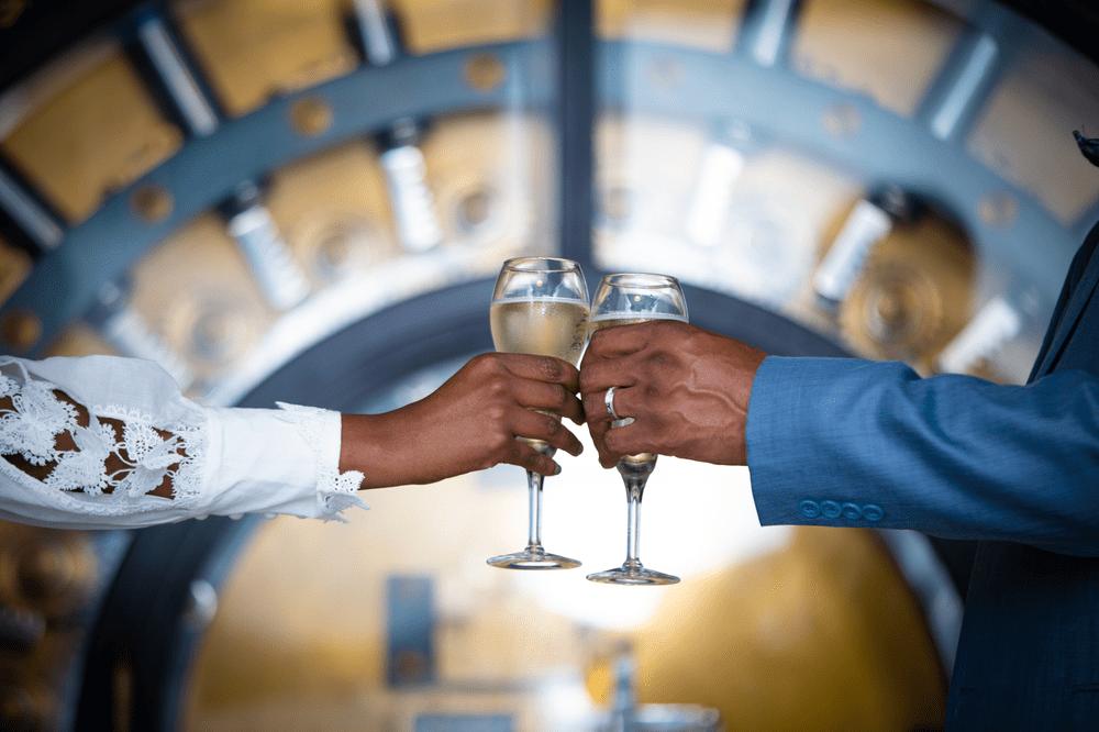 Wed & Dash Pop Up Wedding – True Love Conquered All!