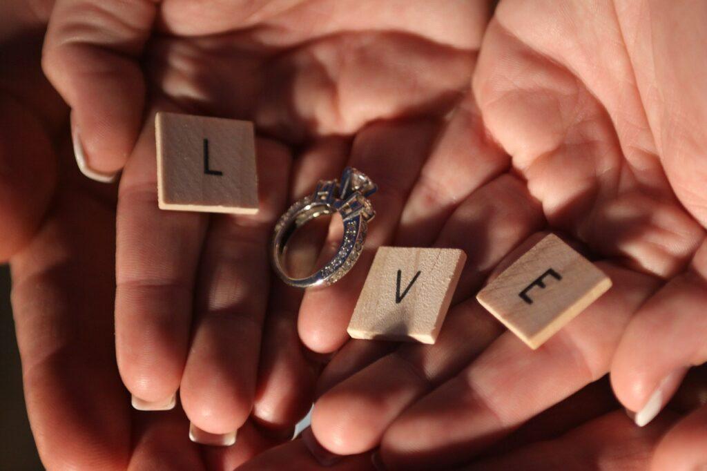 love, ring, romance